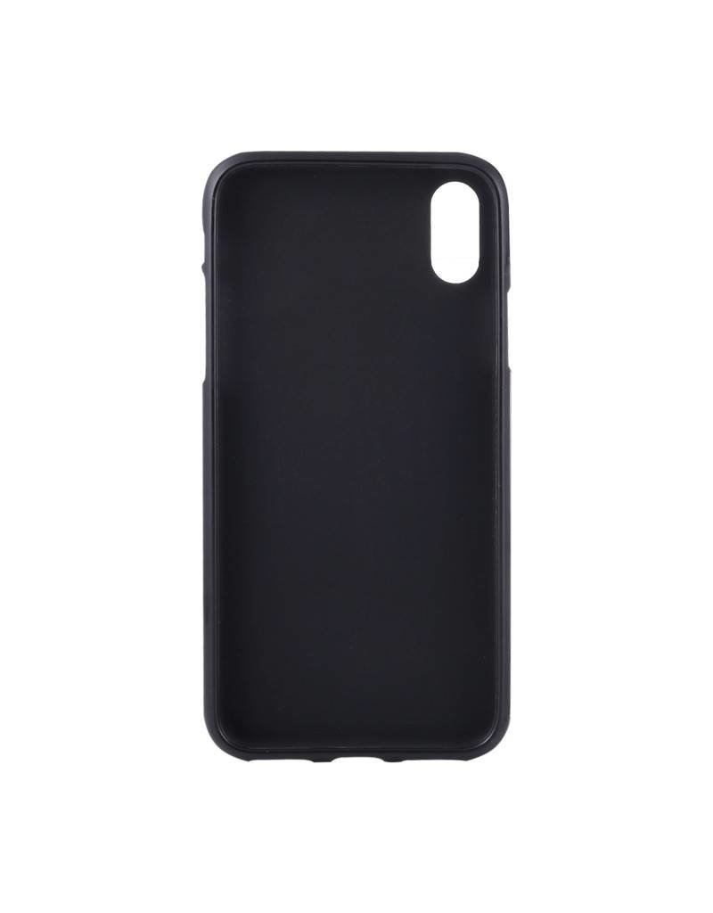Gadget Dojo Mat Zwart Siliconen TPU Hoesje voor iPhone Xs Max