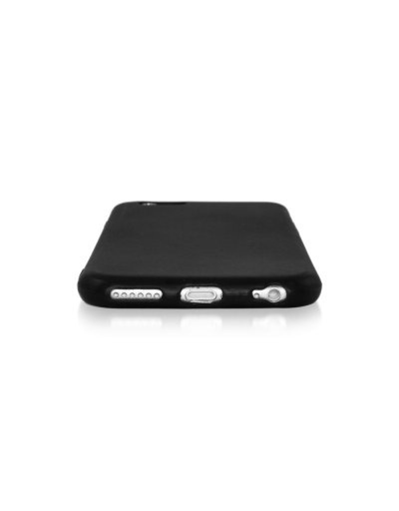 Gadget Dojo Mattschwarz Silikon TPU Case iPhone 6 / 6s