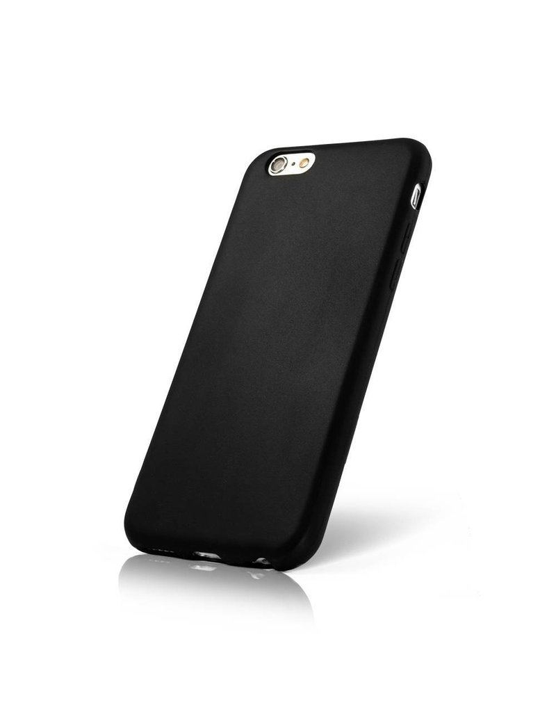 Gadget Dojo Mattschwarz Silikon TPU Case iPhone 7 / 8
