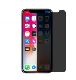 Gadget Dojo Premium Tempered Glass 9H Privacy Screenprotector iPhone X