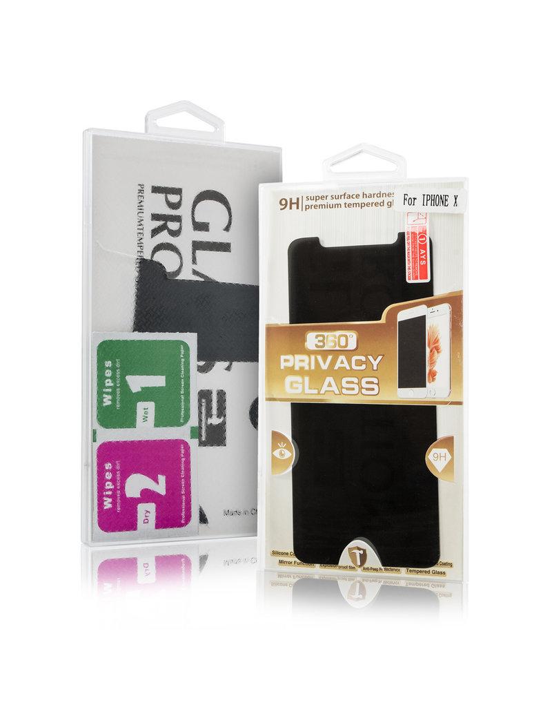 Gadget Dojo Premium Tempered Glass 9H Privacy Screenprotector iPhone 7 Plus
