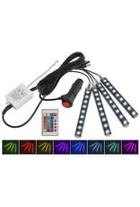 Gadget Dojo LED Autoinnenbeleuchtung RGB + Fernbedienung - Innenbeleuchtung