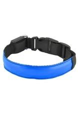Gadget Dojo LED Hundehalsband Blinkend Leuchtendes Halsband fuer Ihren Hund