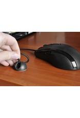 Gadget Dojo Selbstklebende Kabelhalter-Kabelklemmen - 6 Stueck
