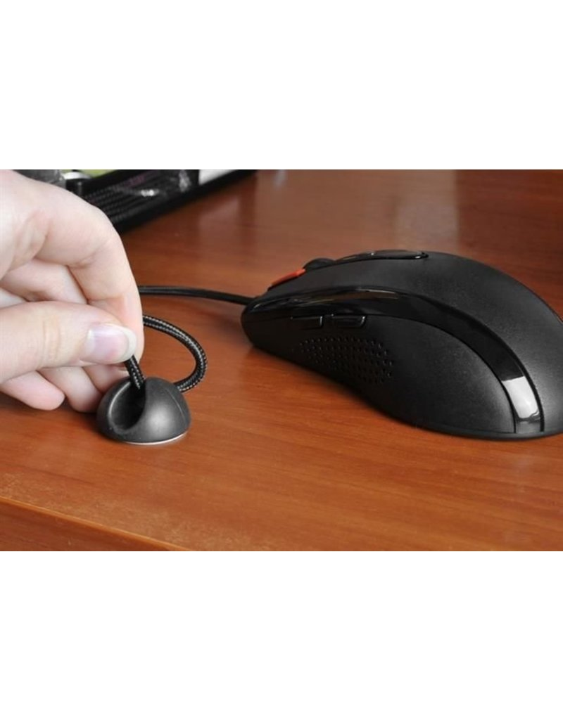 Gadget Dojo Zelfklevende Kabelhouder Kabelklemmen Kabel Clips - 6 stuks