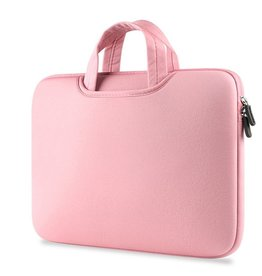 Gadget Dojo Airbag MacBook 2-in-1 sleeve / tas voor Macbook 12 inch / Macbook Air 11 inch Roze