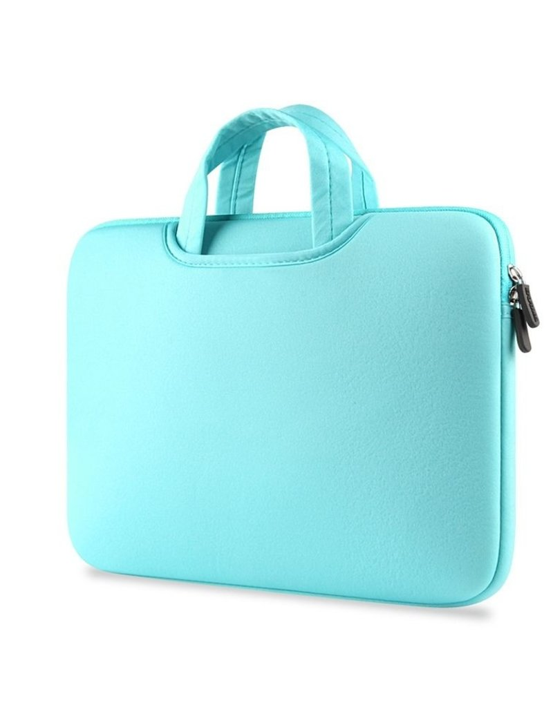 Gadget Dojo Airbag MacBook 2-in-1 Huelle / Tasche fuer MacBook Pro 15 Zoll - Minz Gruen