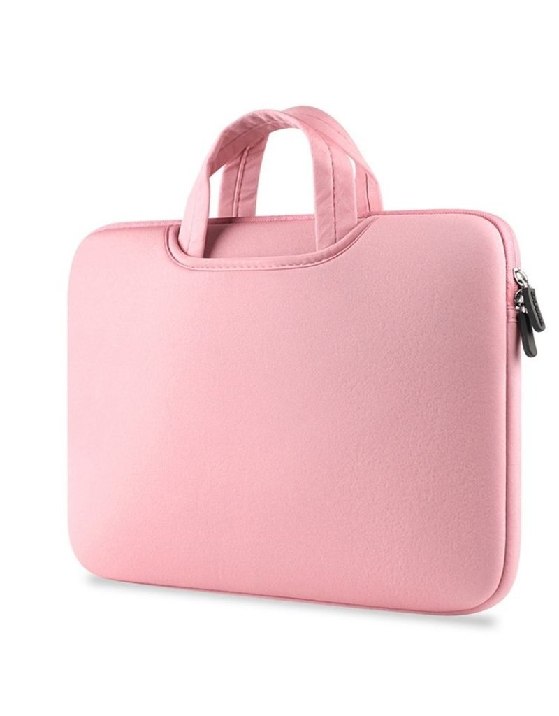 Gadget Dojo Airbag MacBook 2-in-1 Huelle / Tasche fuer MacBook Pro 15 Zoll - Rosa