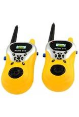 Gadget Dojo Set mit 2 Funksprechgeräten - ausziehbare Antenne - 100 m Reichweite