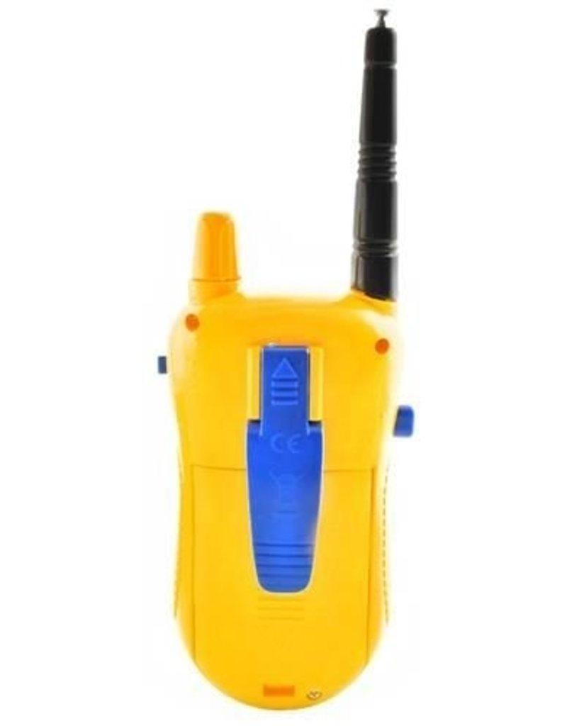 Gadget Dojo Set van 2 walkie talkies - uitschuifantenne - 100m bereik
