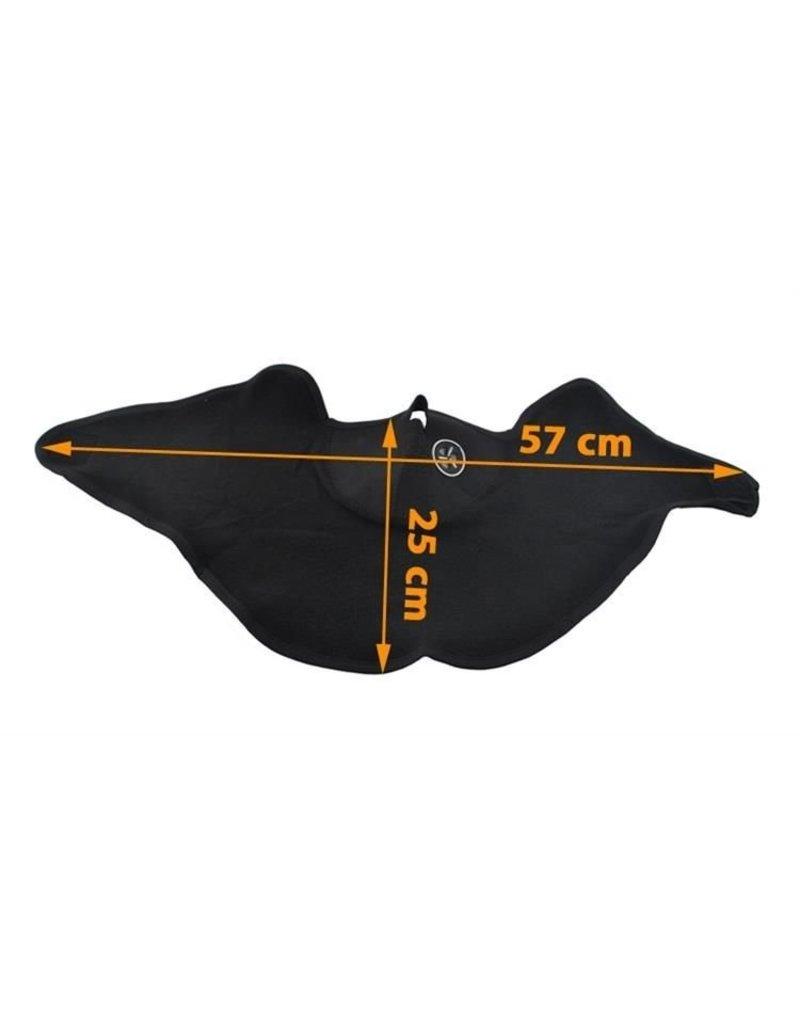 Gadget Dojo Neopreen Nekwarmer Sjaal - Neopreen Ski Motor Brommer Masker Sjaal
