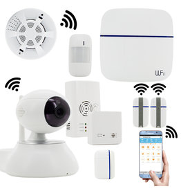 Smart Home Alarmsystem VCare Alarm Sicherheitssystem WiFi & GSM