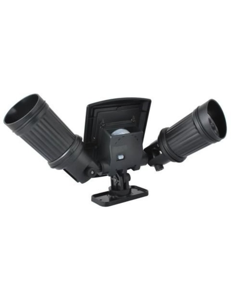 LED Solar Outdoor Lighting spotlight Duo Spot Outdoor met bewegingsmelder