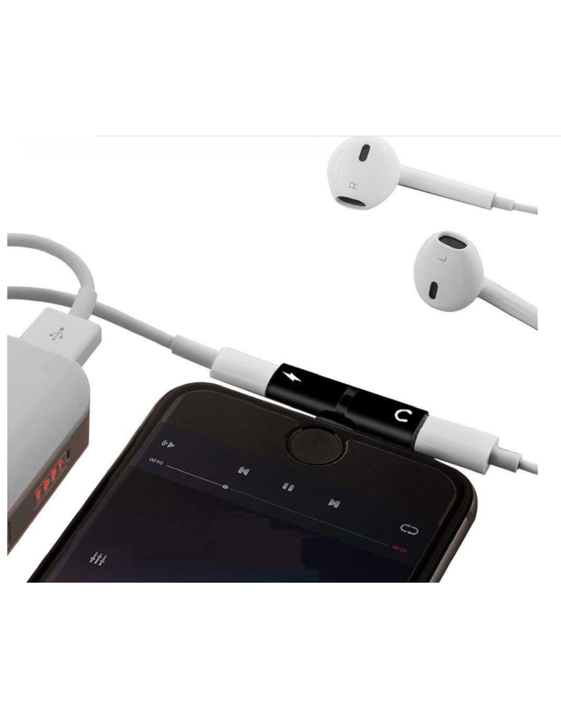 Iphone adapter 2 in 1 splitter
