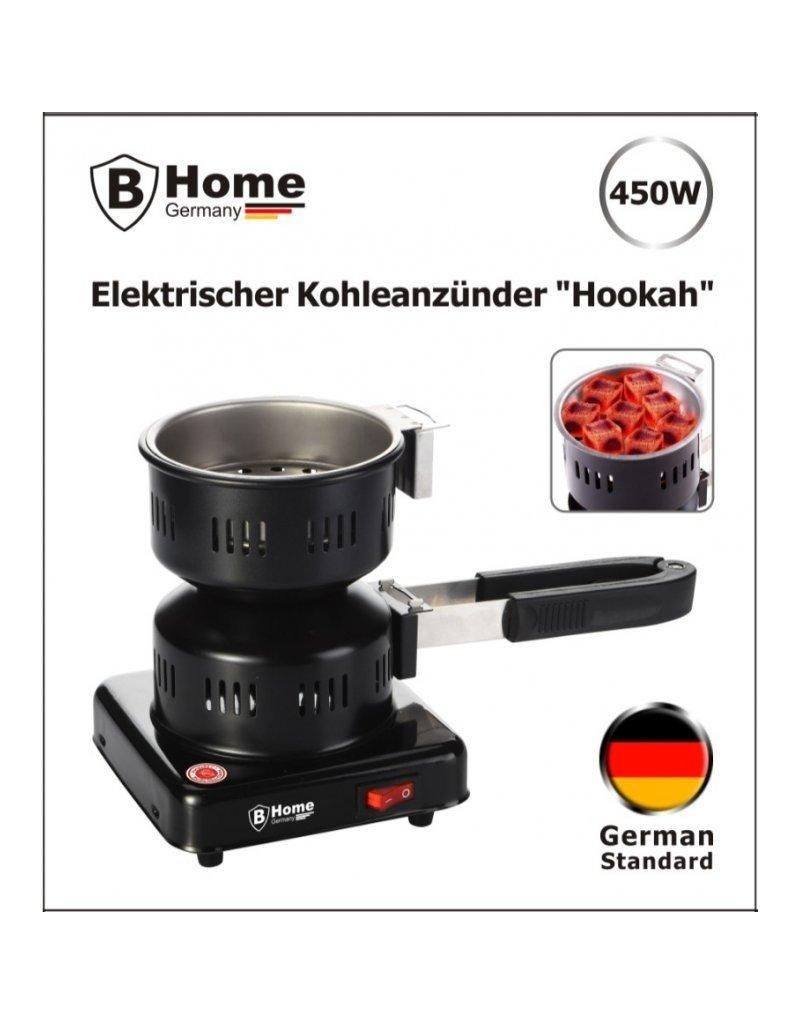 "Elektrischer Shisha Kohleanzünder Kohle Brenner mit Greifzange ""Hookah"" 450W"