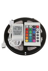 LED Strip Set 5m RGB-3528 LEDS Farbe  - Fernbedienung mit 24 Tasten