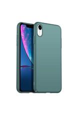 Rückseite Hülle Abdeckung iPhone Xr Hülle Grey Blue