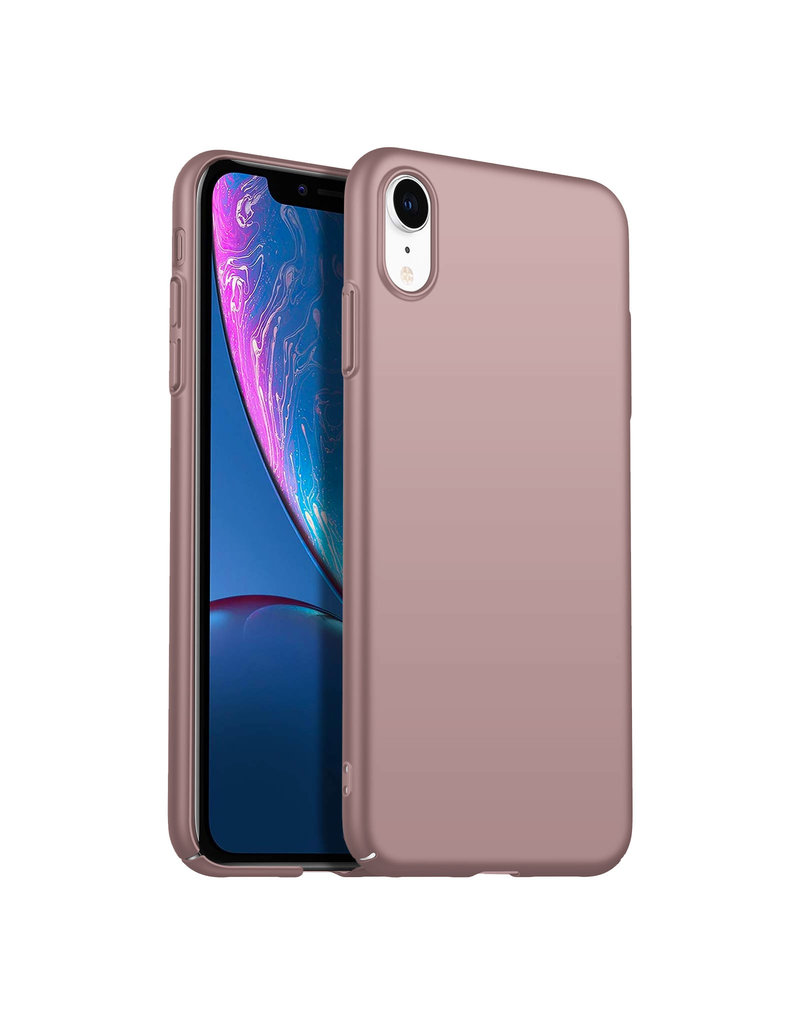 Rückseite Hülle Abdeckung iPhone Xr Hülle Powder Pink