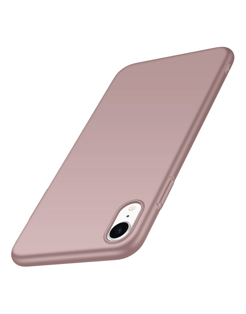 Back Case Cover iPhone Xr Hoesje Power Pink