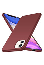 Back Case Cover iPhone 11 Hoesje Burgundy