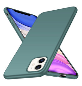 Back Case Cover iPhone 11 Hoesje Grey Blue