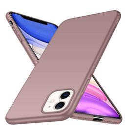 Rückseite Hülle Abdeckung iPhone 11 Hülle Powder Pink