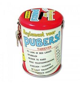 Paperdreams Spaarpot Pubers!