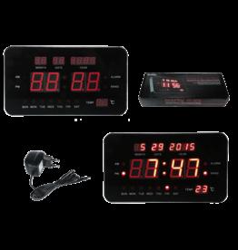 Out of the Blue Digitale klok met wekkerfunctie, datum- en temperatuurweergave