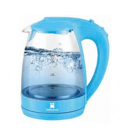 Hoffmanns Waterkoker met LED babyblauw