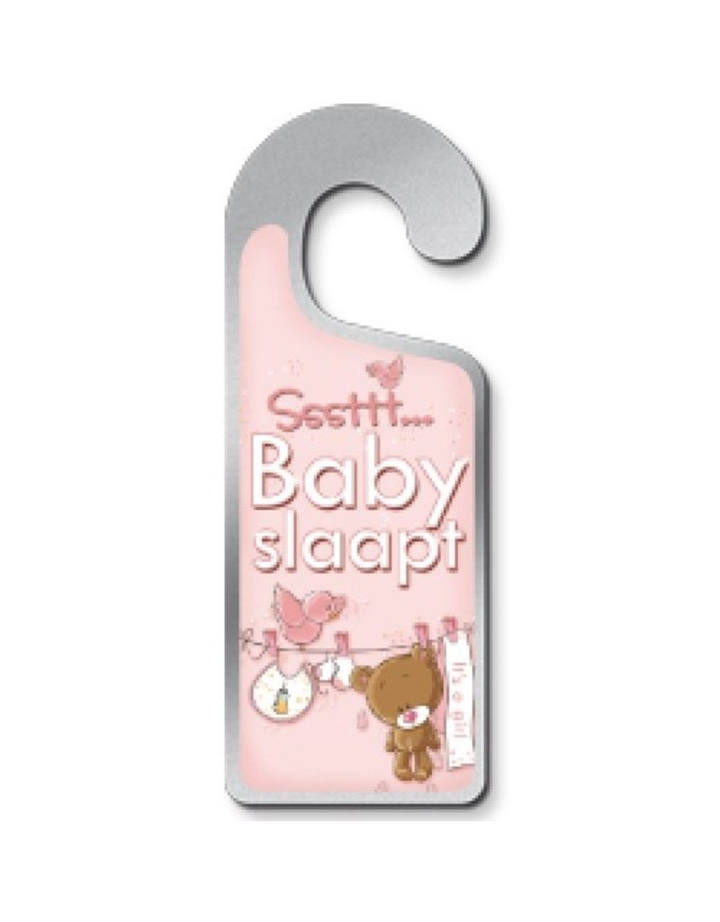 Miko Deurhanger Sssttt Baby slaapt - it's a girl