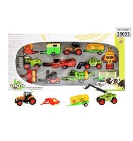 Toi-Toys Traktor playset Deluxe