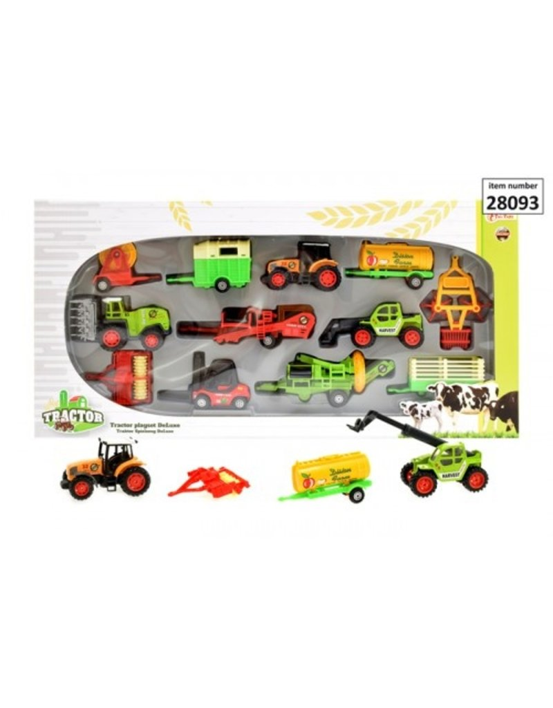 Toi-Toys Tractor speelset Deluxe