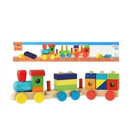 Toi-Toys Holzblöcke Zug