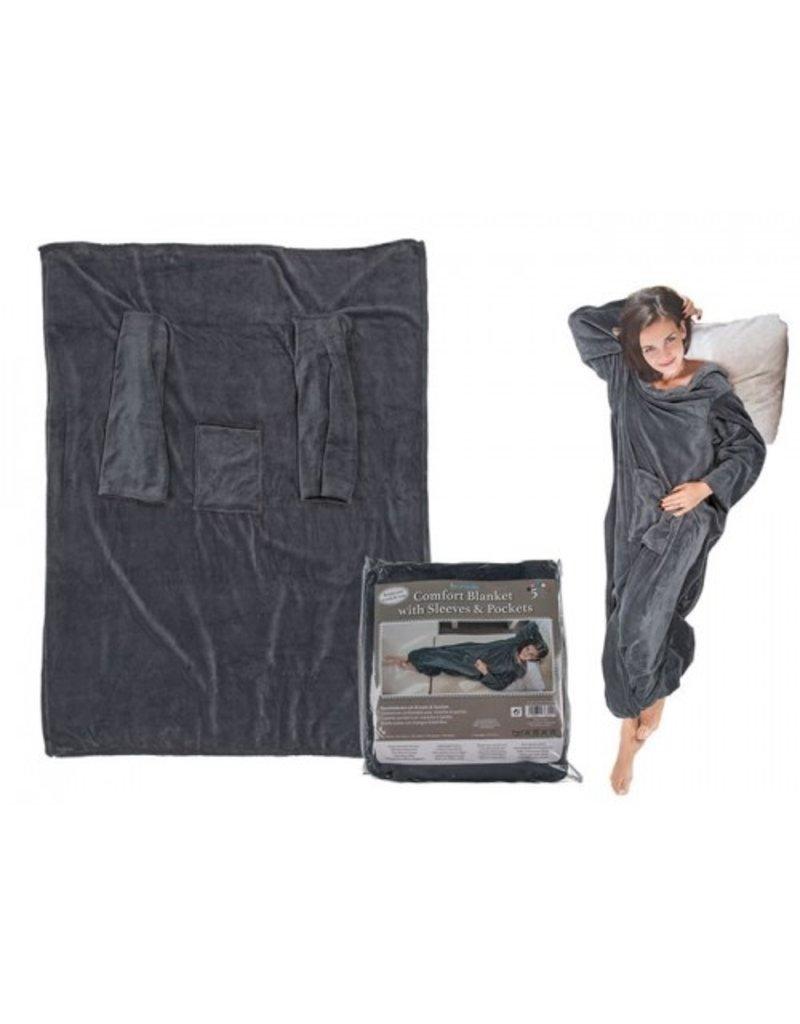 Out of the Blue Comfortabele deken met mouwen