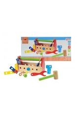 Toi-Toys Houten gereedschapskist