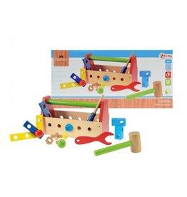 Toi-Toys Holz Toolbox
