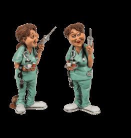 Out of the Blue Lustige Figuren - Krankenschwester
