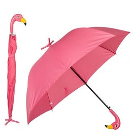 Out of the Blue Paraplu Flamingo met standaard
