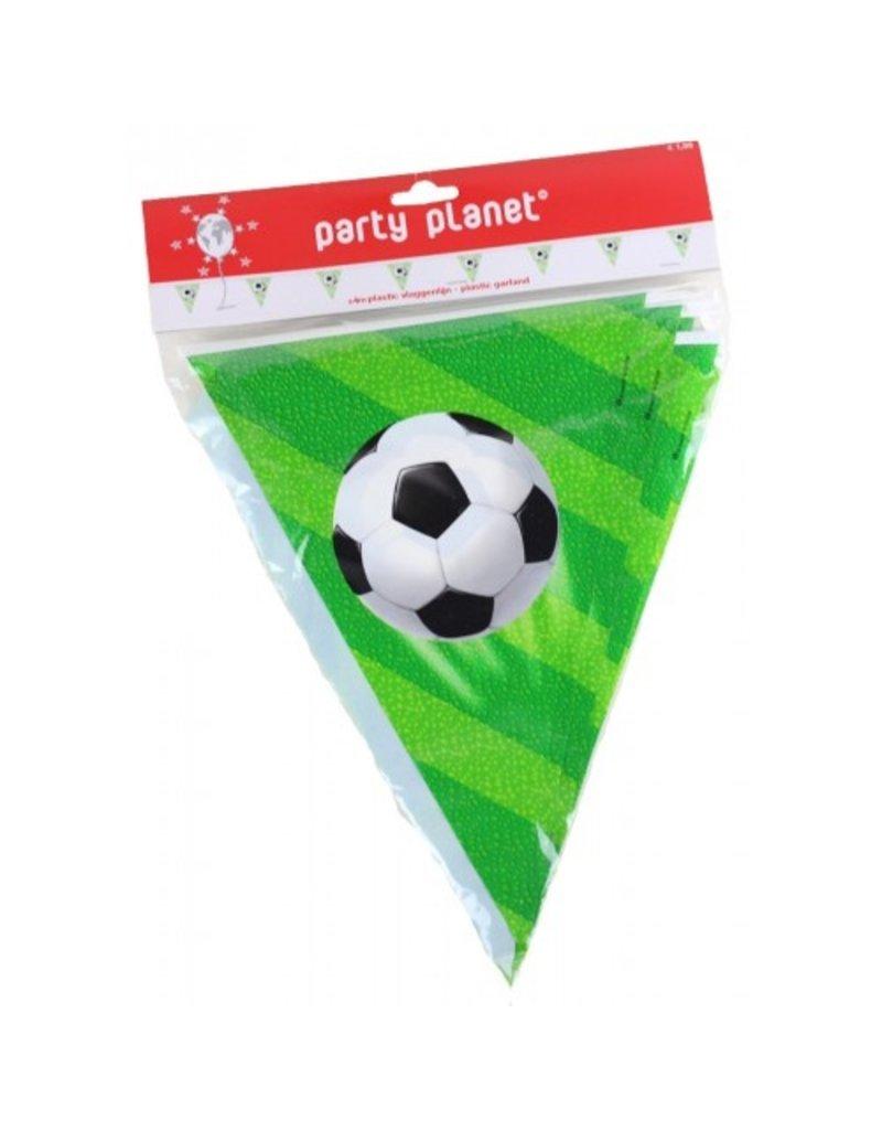 Party Planet 4m vlaggenlijn voetbal