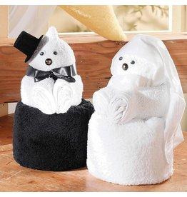 White label Handtuch Puppen Paar
