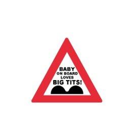 Miko Verkeersbord Baby on Board