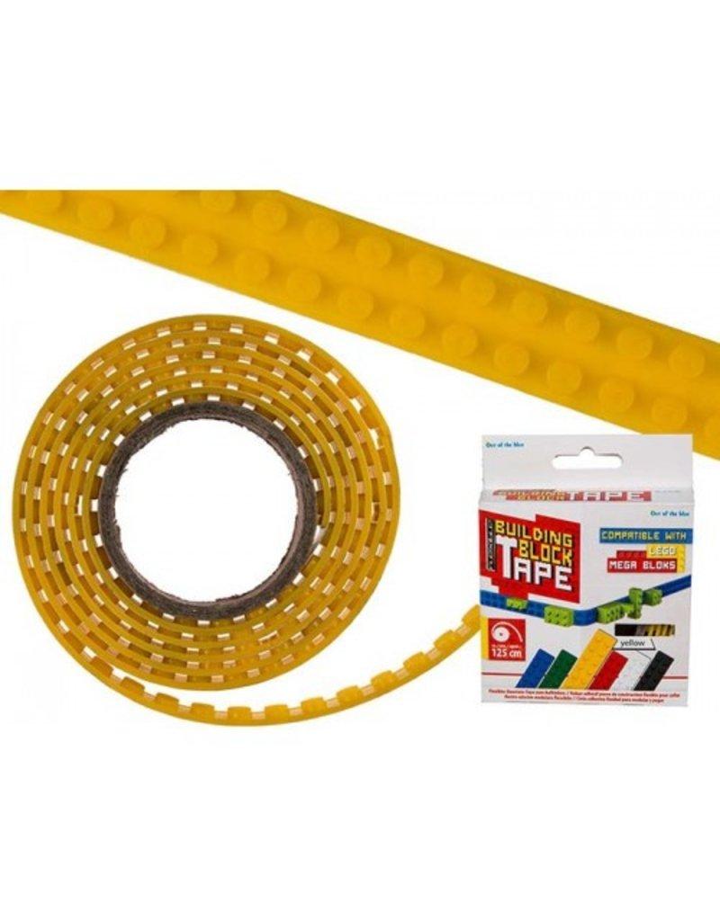 Out of the Blue Flexibel bouwsteentape geel
