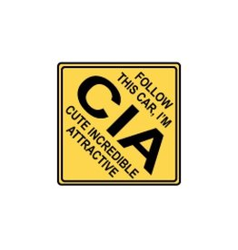 Miko Verkeersbord CIA