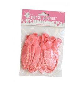 Party Planet 10 ballonnen geboorte meisje