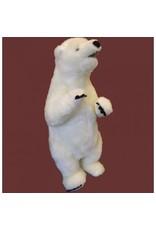 White label stehend Eisbär