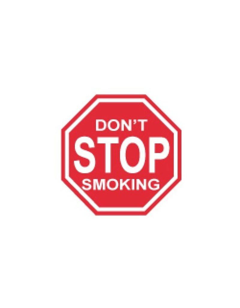 Miko Verkeersbord Don't stop smoking