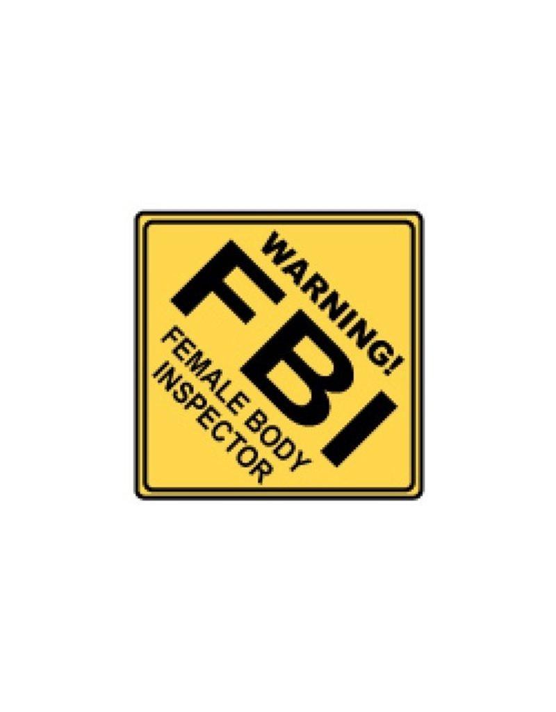 Miko Verkeersbord FBI