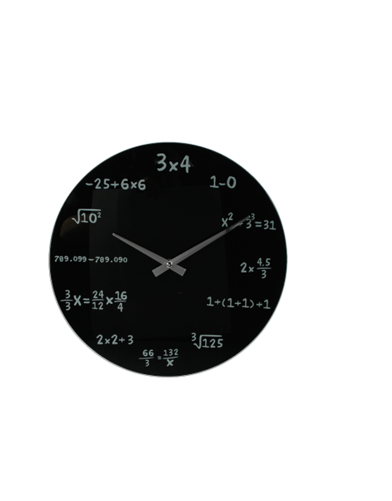 Out of the Blue math Uhr