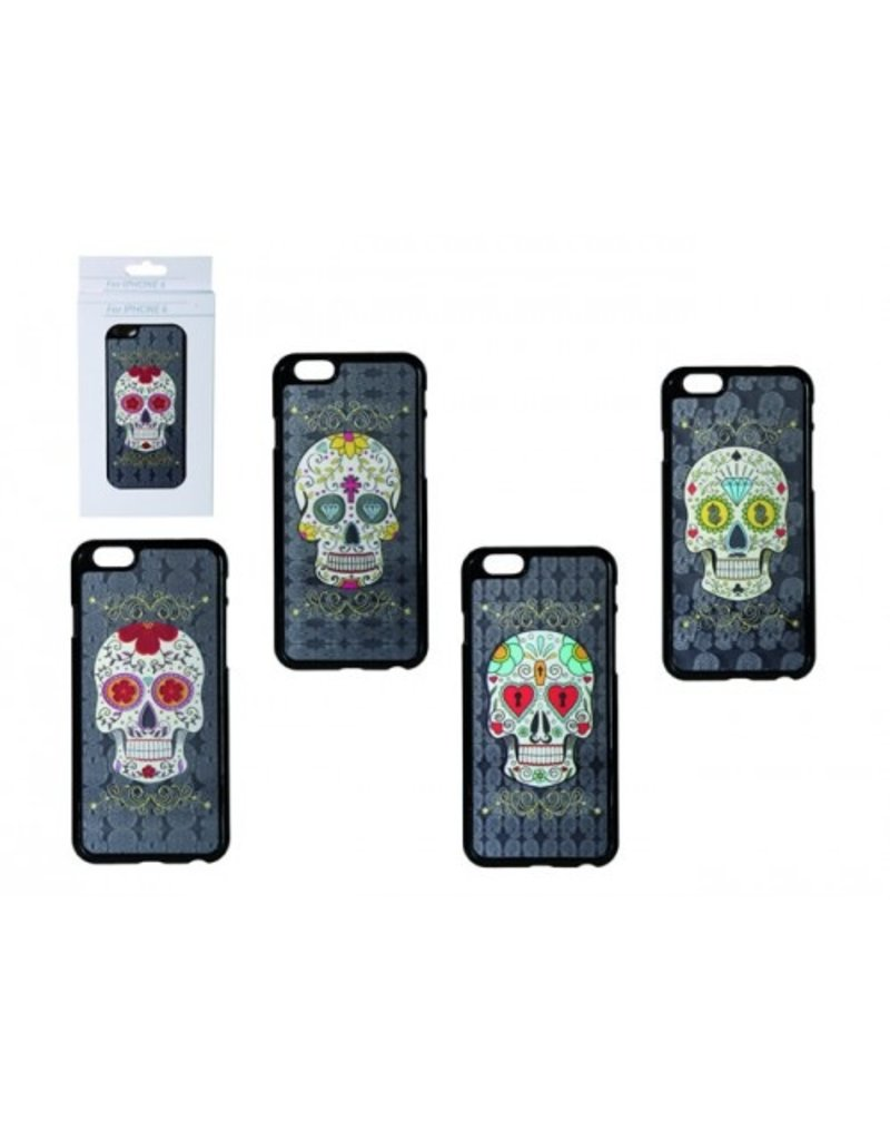 Out of the Blue Skull 3D kunststof cover voor iphone 6