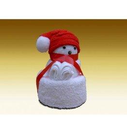White label Towel dolls Kerstbeertje